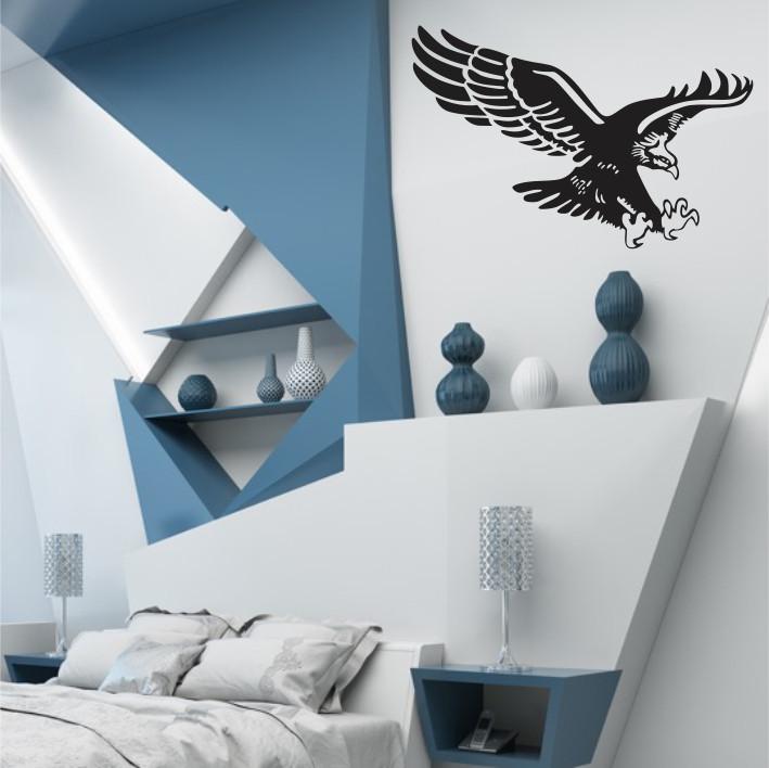 Stenska nalepka Ptica E0379