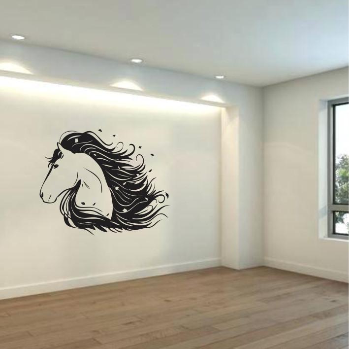 Stenska nalepka Konj E0386