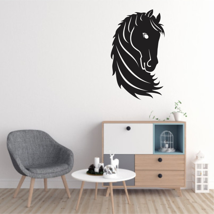 Stenska nalepka Konj E0018