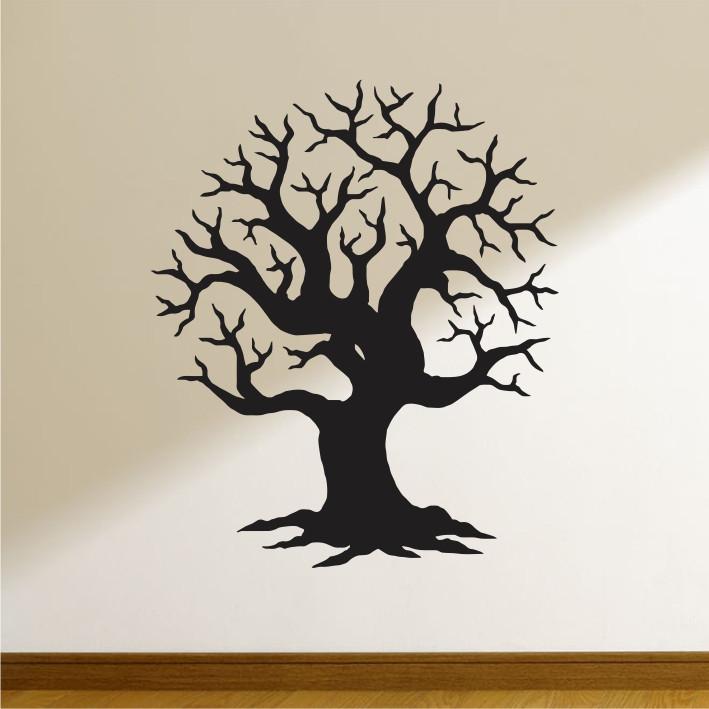 Stenska nalepka Drevo G0304