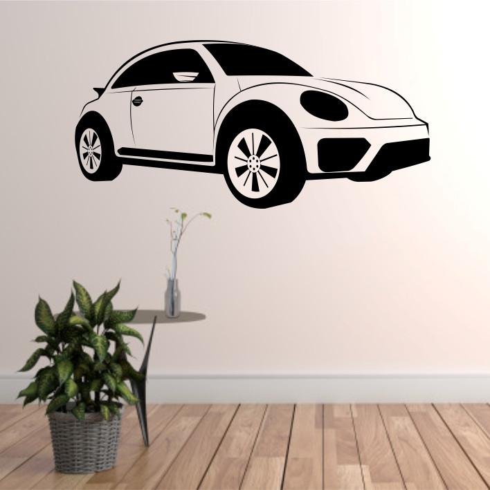 Stenska nalepka Volkswagen Beetle H0101