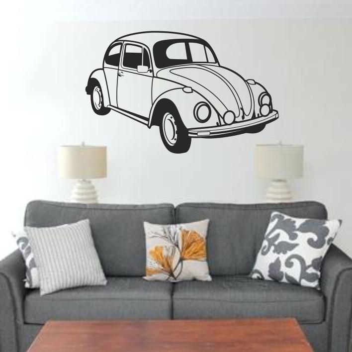 Stenska nalepka Volkswagen Beetle H0103