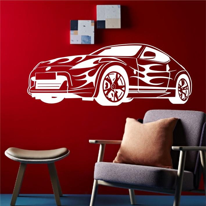 Stenska nalepka Avtomobil H0121