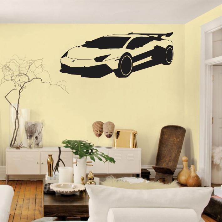 Stenska nalepka Avtomobil H0126