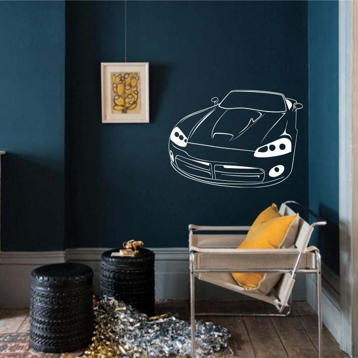 Stenska nalepka Avtomobil H0135