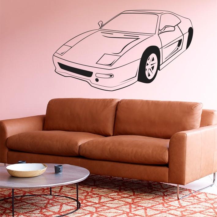 Stenska nalepka Avtomobil H0137