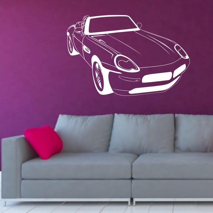 Stenska nalepka Avtomobil H0139