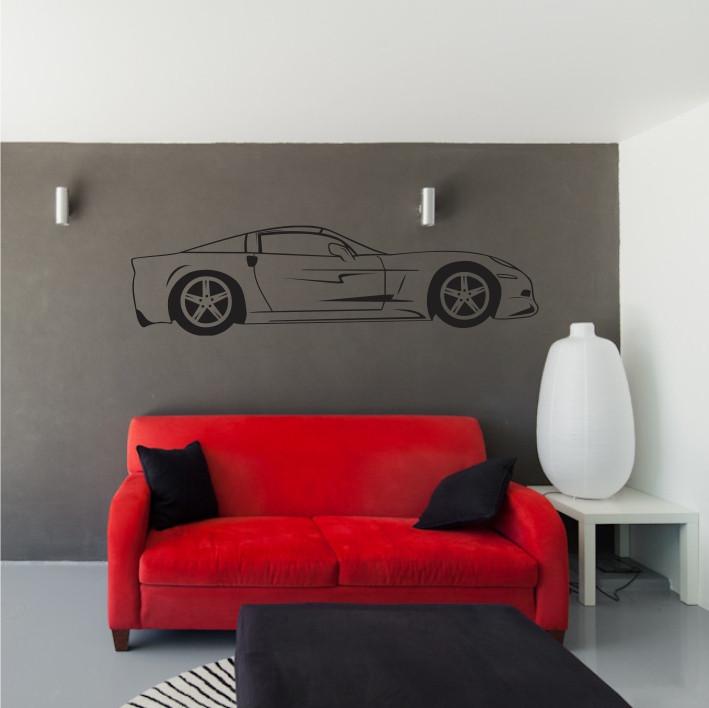 Stenska nalepka Avtomobil H0150