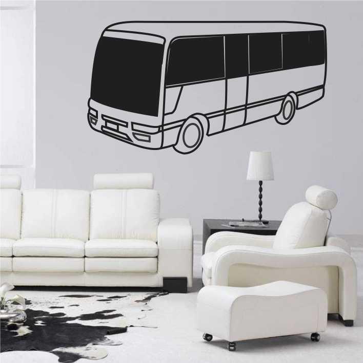 Stenska nalepka Avtobus H0172