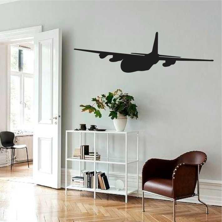 Stenska nalepka Letalo K0013