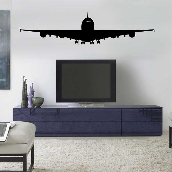 Stenska nalepka Letalo K0140