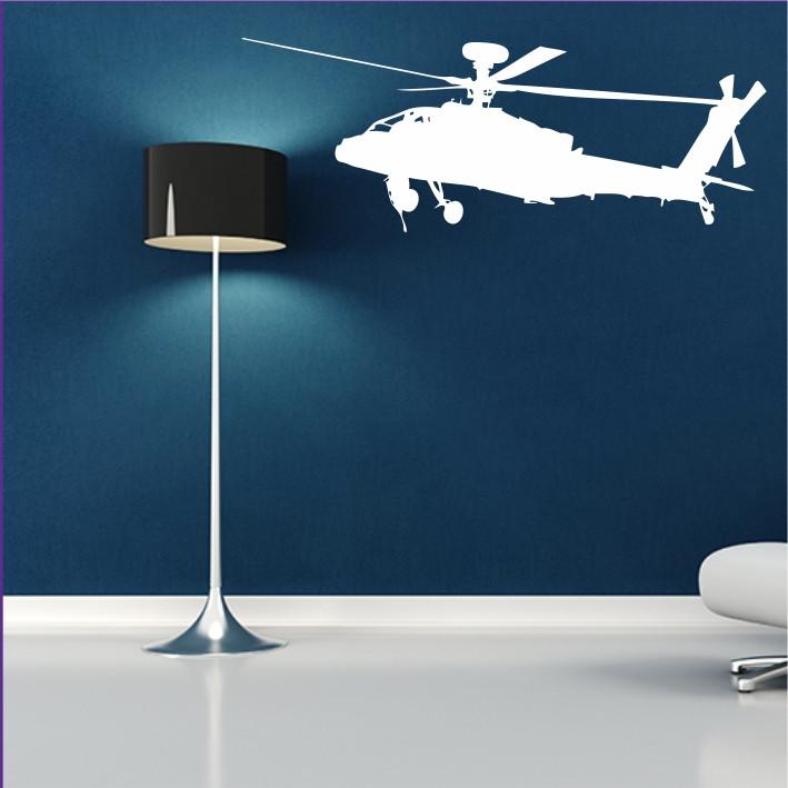 Stenska nalepka Helikopter K0233