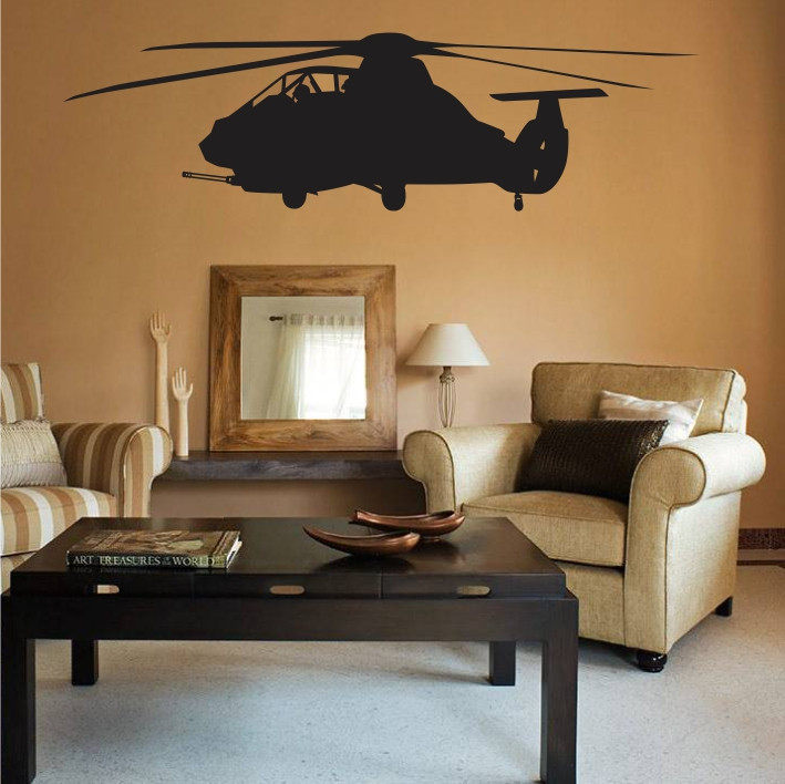 Stenska nalepka Helikopter K0247