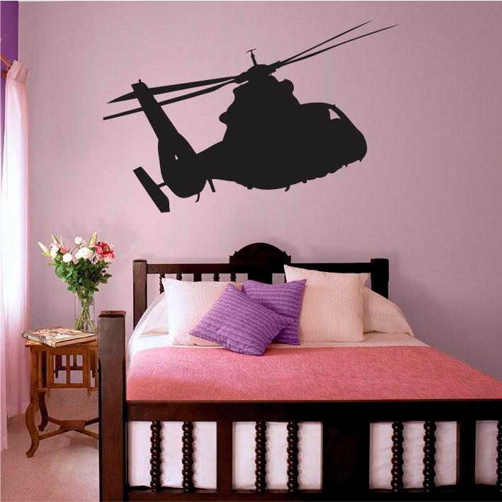 Stenska nalepka Helikopter K0251