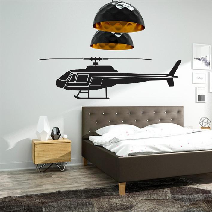 Stenska nalepka Helikopter K0254