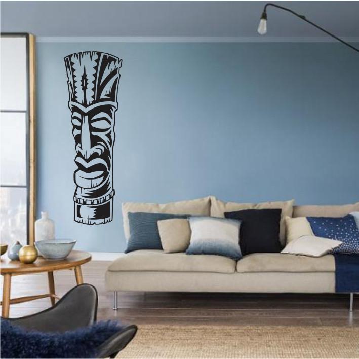 Stenska nalepka Tiki Totem R0004