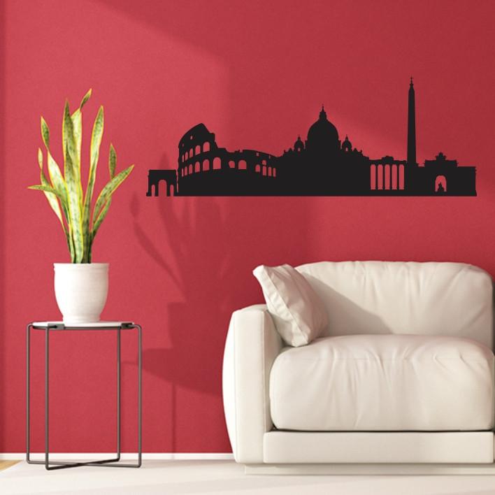 Stenska nalepka Rome