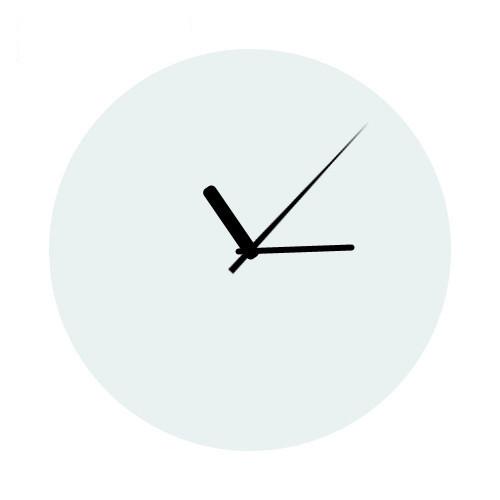 Steklena stenska ura premera 30cm z vašim motivom