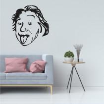 Stenska nalepka Albert Einstein C0011