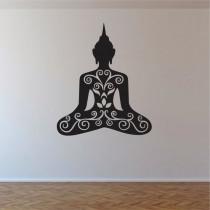 Stenska nalepka Buddha C0018