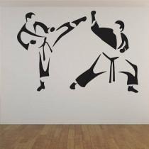 Stenska nalepka Karate C0032