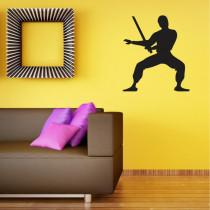 Stenska nalepka Ninja C0138