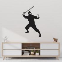 Stenska nalepka Ninja C0139