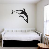 Stenska nalepka Delfin E0023