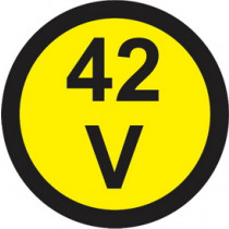 Elektro znak 42V
