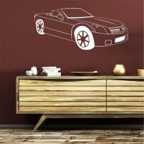 Stenska nalepka Avtomobil H0152