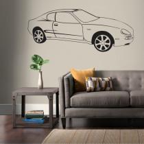 Stenska nalepka Avtomobil H0156