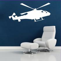 Stenska nalepka Helikopter K0250