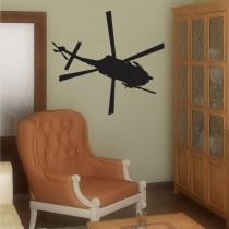 Stenska nalepka Helikopter K0256
