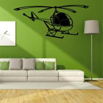 Stenska nalepka Helikopter K0281