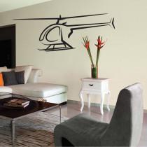 Stenska nalepka Helikopter K0282