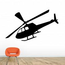 Stenska nalepka Helikopter K0285