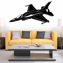 Stenska nalepka Letalo K0286