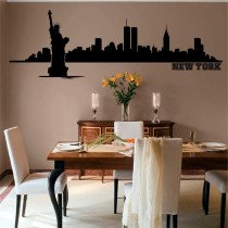 Stenska nalepka New York L0126