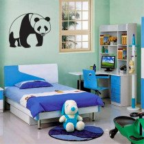 Stenska nalepka Panda M0053