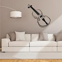 Stenska nalepka Violina O0006