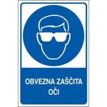 Obvezna zaščita oči