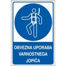 Obvezna uporaba varnostnega jopiča