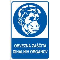 Obvezna zaščita dihalnih organov