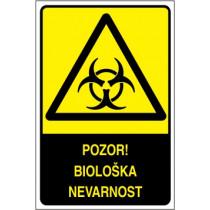 Pozor! Biološka nevarnost