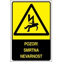 Pozor! Smrtna nevarnost