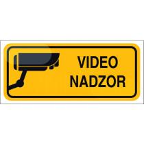 Varovano z video nadzorom