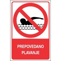 Prepovedano plavanje