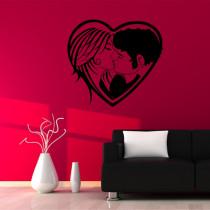 Stenska nalepka Srce P0013