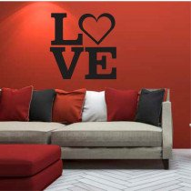 Stenska nalepka Love P0053