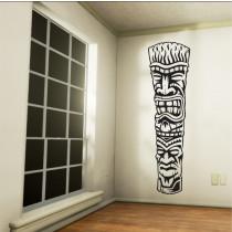 Stenska nalepka Tiki Totem R0002